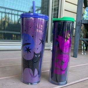 Set of 2 Starbucks Halloween 2020 Tumbler Cups